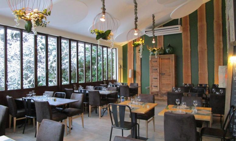 Restaurant Au jardin gourmand_Saint Donat - Restaurant Au jardin gourmand_Saint Donat