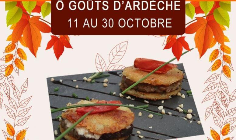 Ville de Privas - Affiche O Goûts d'Ardèche 2021