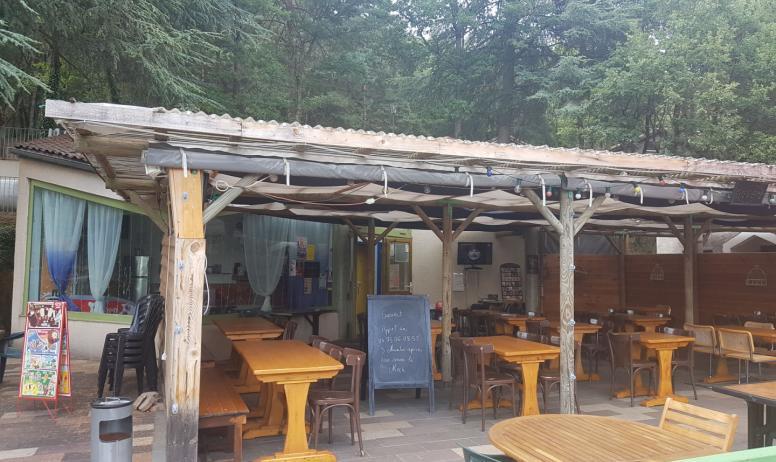 Ardèche Hermitage-Tourisme - Snack  camping Chantelermuze-Saint Victor