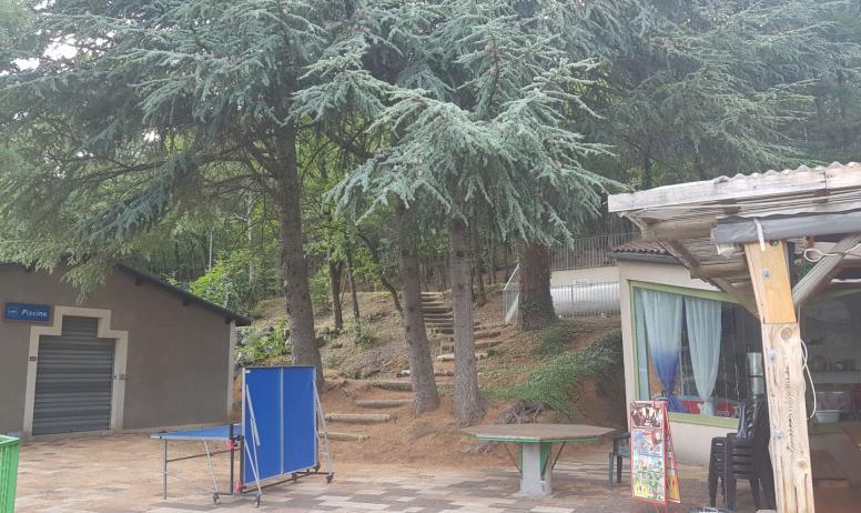 Ardèche-Hermitage-tourisme - Snack  camping Chantelermuze-Saint Victor