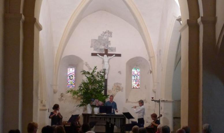 ©OTASV - Fabras - Concert dans l'église St-Pierre-aux-Liens ©OTASV