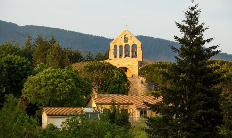©S.BUGNON - Fabras - L'église romane-3 ©S.BUGNON