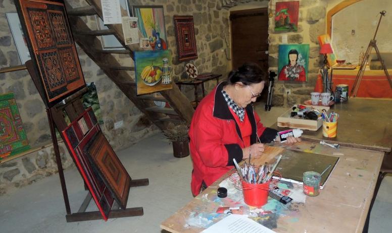 Michèle Perrot - Atelier galerie d'art