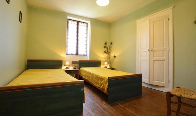 Gîtes de France - chambre lits jumeaux