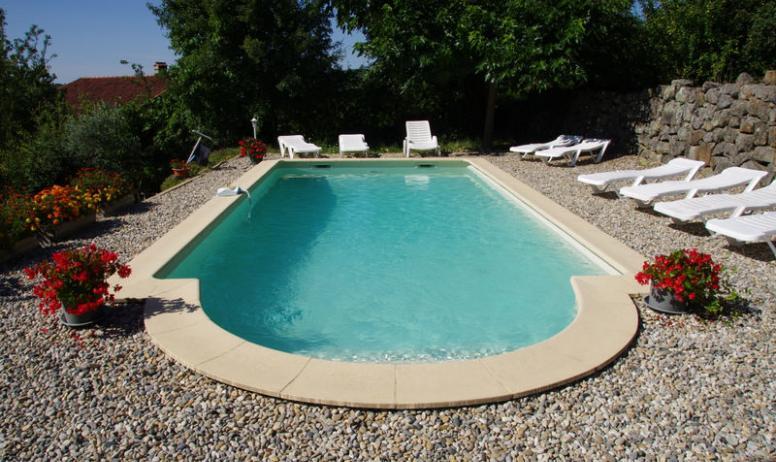 Gîtes de France - piscine commune