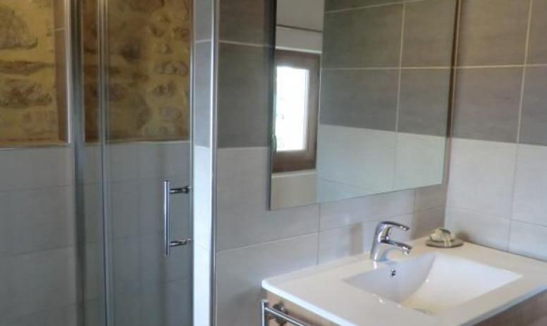 Gîtes de France - salle d'eau privée 1ere chambre