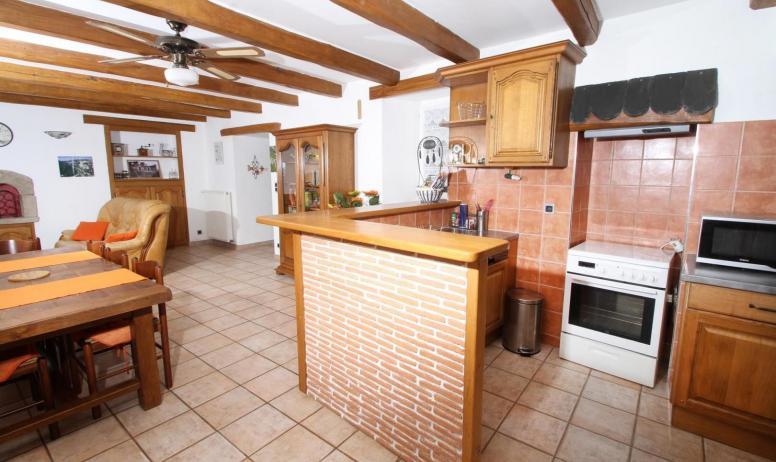 Gîtes de France - salon cuisine