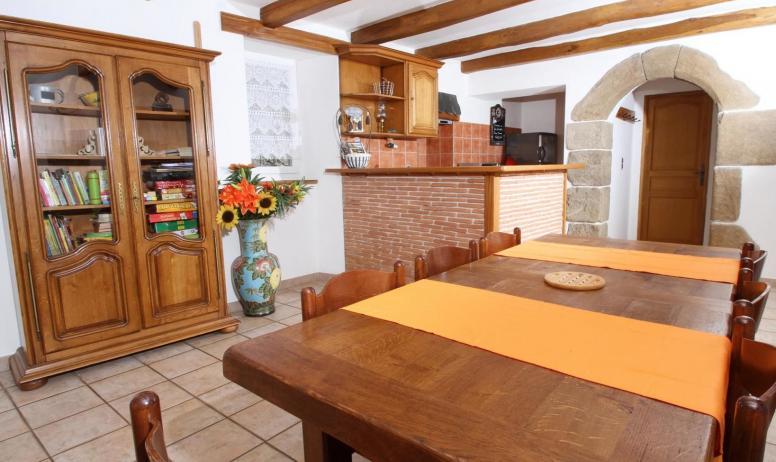 Gîtes de France - Salon-cuisine