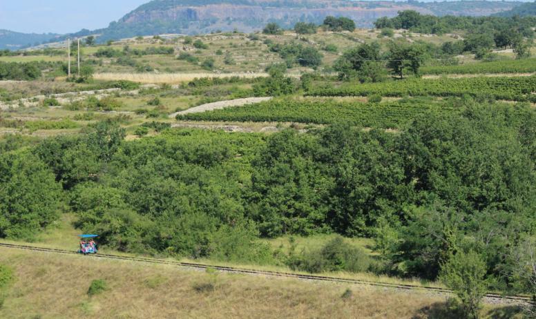 Vélorail du Sud Ardèche - Vélorail du Sud Ardèche - St Jean le Centenier