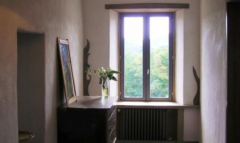 © Domaine du Pray d'Aunay - Le couloir d'accès aux chambres d'hôtes