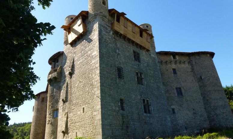 Château de Maisonseule - Vue extéxrieure