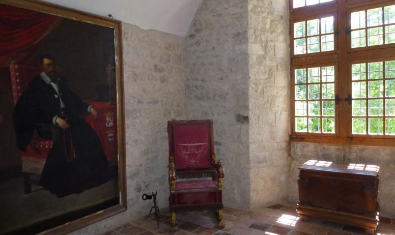 Château de Maisonseule - Le salon