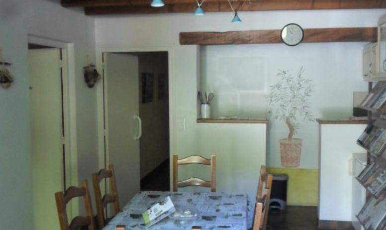 Clévacances - pièce commune aux  chambres d'hotes