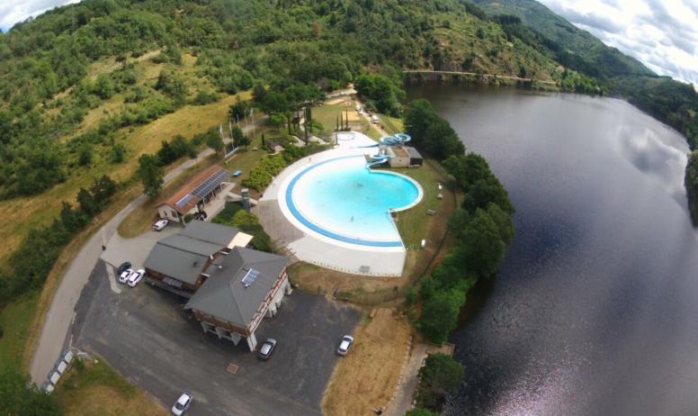 © Ardèche Hautes Vallées - La base aquatique dans un berceau de nature