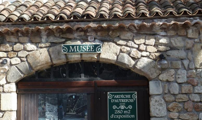 ©OTASV - Musée d'Ardèche d'autrefois
