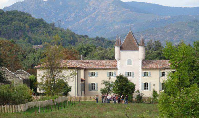 ©PNRMA ©N.Klee - Jaujac - Maison du Parc naturel regional des monts d'Ardèche extérieur-2 ©N.Klee