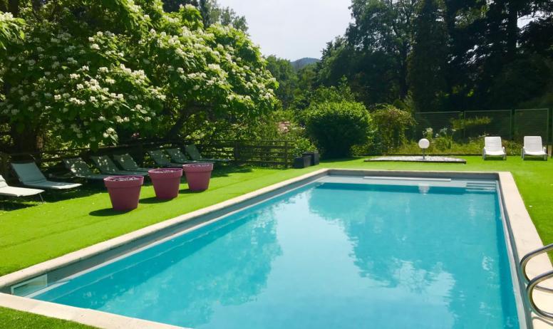 Hotel la Gentilhommière - La piscine
