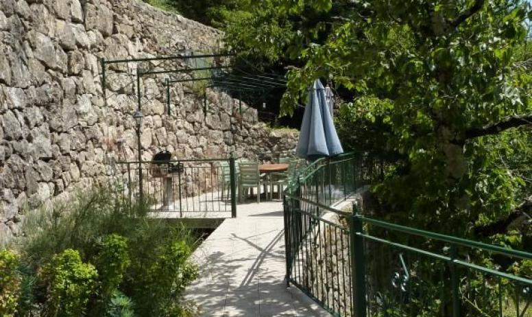 Gîtes de France - Terrasse privé
