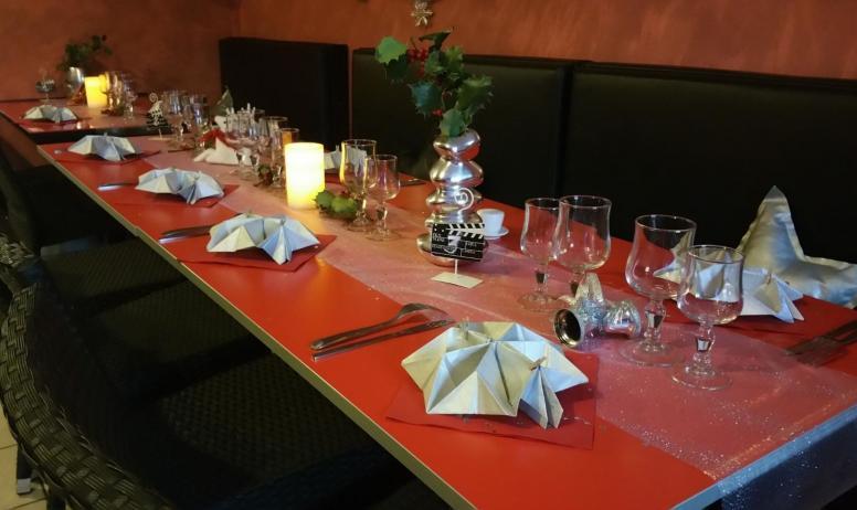 Magali Rochette - La salle de restaurant