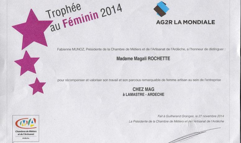 Magali Rochette - Diplôme